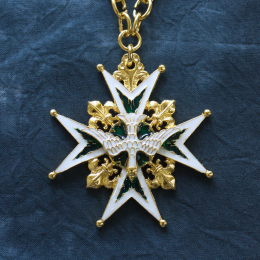 Star pendant of the Order of the Holy Spirit