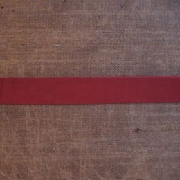 Leather Straps: Red - up to 30 mm
