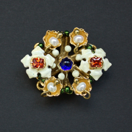 Medieval brooch from the Cleveland Necklace EA36