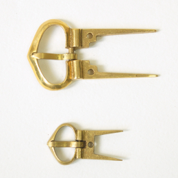 Set of E11-1 and E11-2 buckles with fork, England